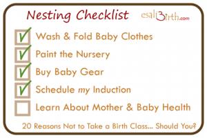 no childbirth class esali birth