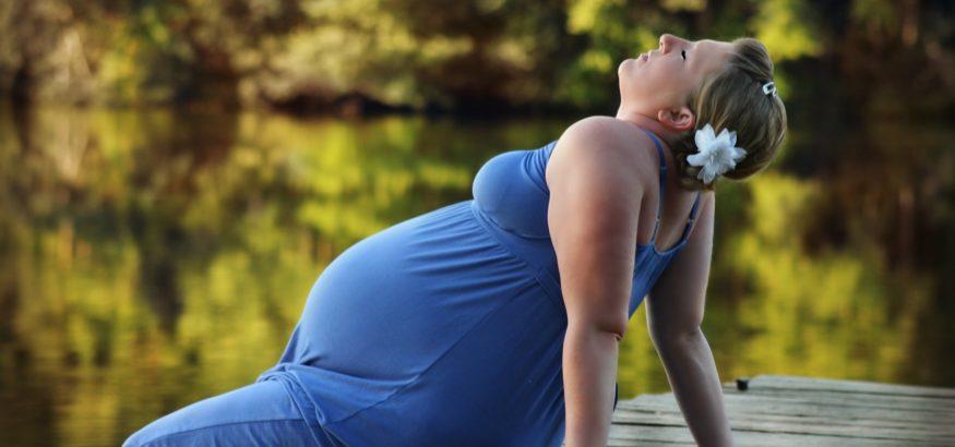 pregnant outside