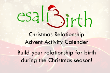 Christmas Countdown Pregnancy Activities